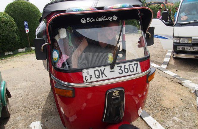 Se déplacer au Sri lanka en Tuk Tuk