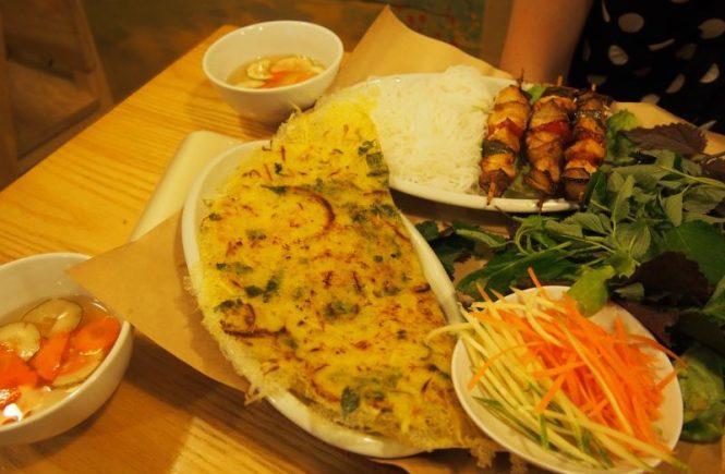 Cuisine vietnamienne à Hanoi