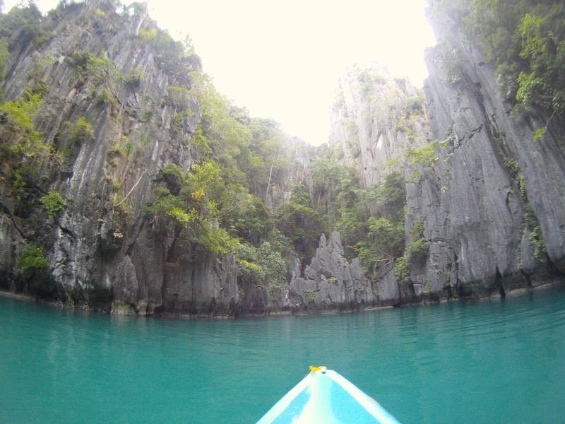 Faire du canoe dans Small Lagoon El Nido