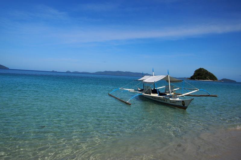 Bateau typique des Philippines