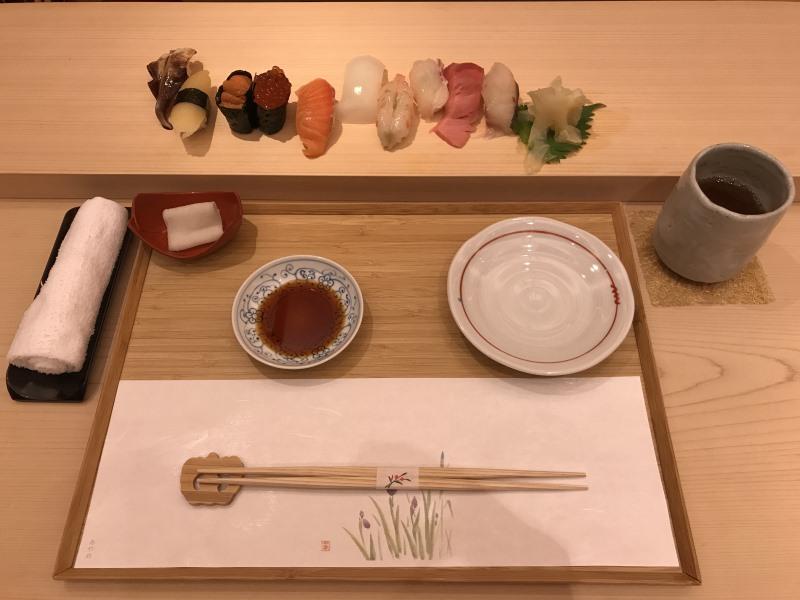 Cuisine japonaise sushi