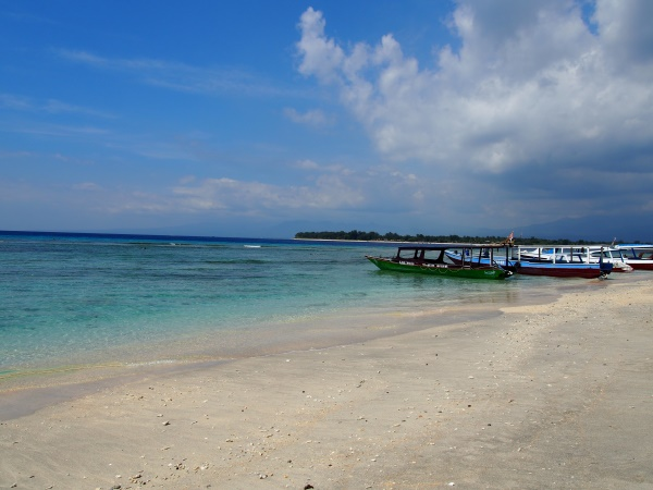 Top 10 des choses à faire à Bali : plage de Gili Trawangan