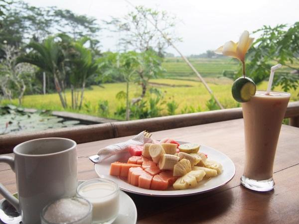 Top 10 des choses à faire à Bali : petit déjeuner avec vue