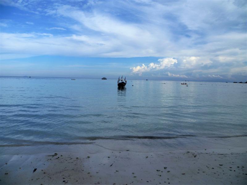 Plage paradisiaque aux îles Perhentian (Flora Bay)