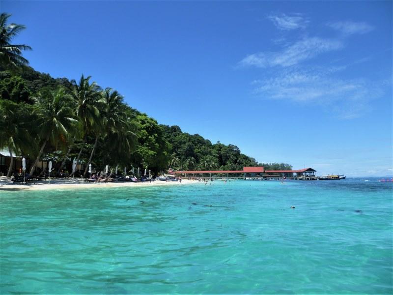 Plage de Tuna Bay aux îles Perhentian