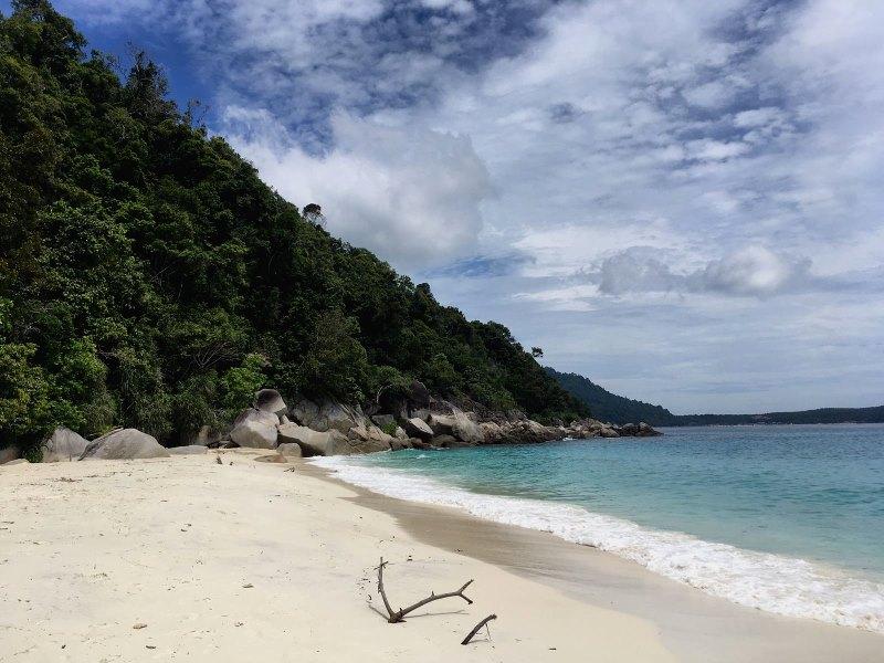 Plage de Turtle Beach aux îles Perhentian