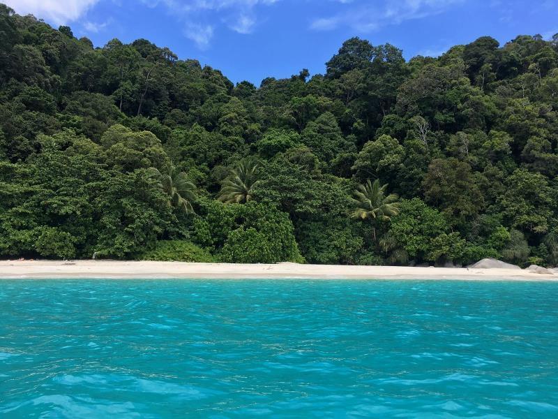 Plage de Turtle Beach sur les îles Perhentian