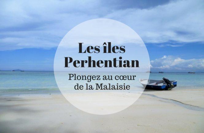 Plage paradisiaque aux îles Perhentian en Malaisie