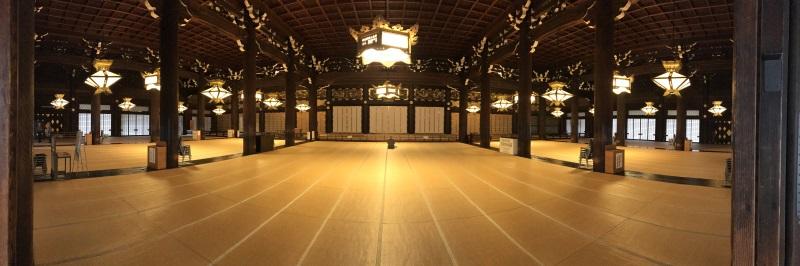 Les plus beaux temples de Kyoto : Higashi Hongan-ji