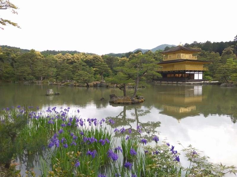 Les plus beaux temples de Kyoto : le pavillon d'or