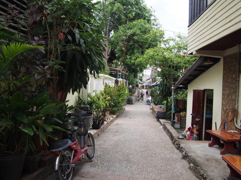 Luang Prabang : la ville la plus belle du monde ! Rue de Luang Prabang