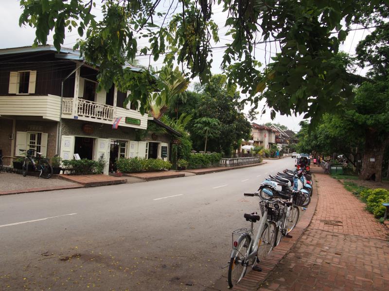 Luang Prabang : la ville la plus belle du monde ! Rues de Luang Prabang
