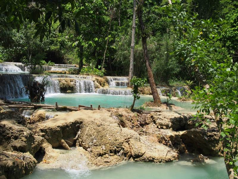 Top 10 des activités à faire à Luang Prabang : cascades de Kuang Si