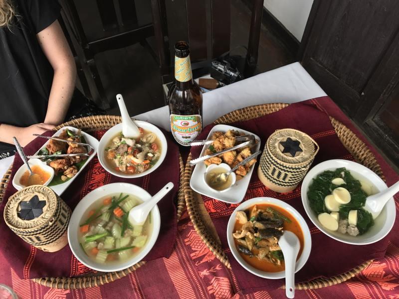 Top 10 des activités à faire à Luang Prabang : nourriture laotienne