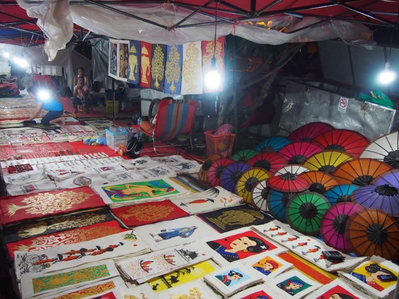 Top 10 des activités à faire à Luang Prabang : marché nocturne