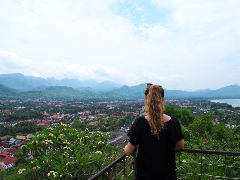 Top 10 des activités à faire à Luang Prabang : vue sur le Mont Phousi