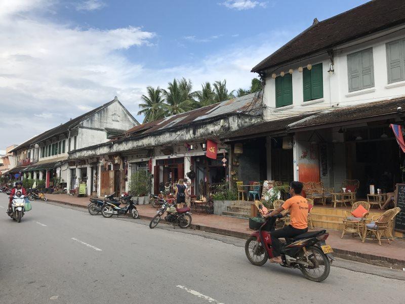 Top 10 des activités à faire à Luang Prabang : rues de Luang Prabang