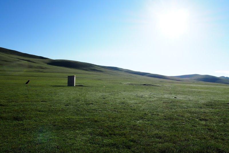 Tu sais que tu es en Mongolie quand : aller aux toilettes est une mission commando