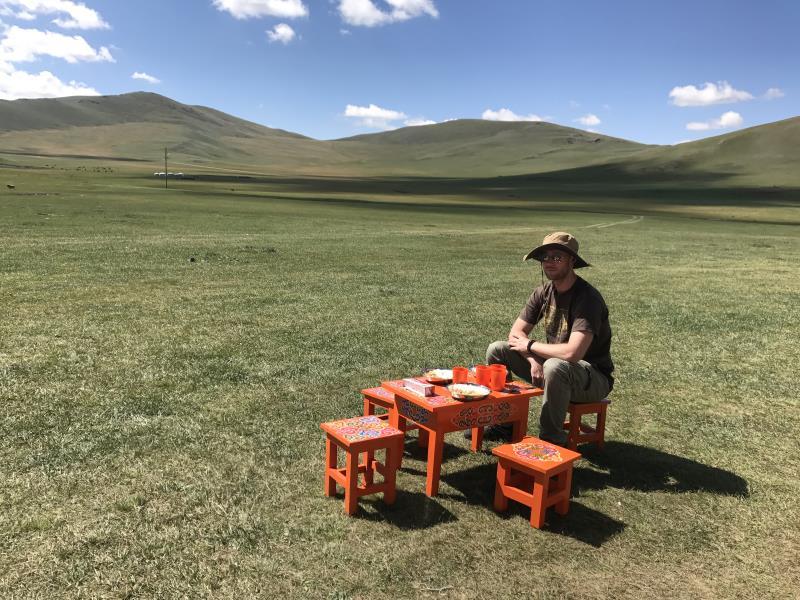 Tu sais que tu es en Mongolie quand : tu as de la place pour les picnics