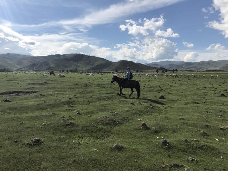 Voyage en Mongolie : balade à cheval