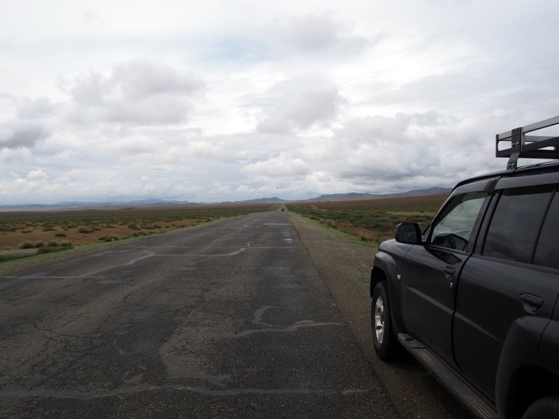 Voyage en Mongolie : sur la route