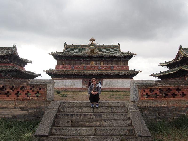 Voyage en Mongolie : visite d'un monastère
