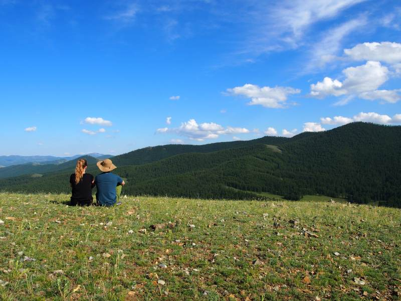 Voyage en Mongolie : admirer le paysage