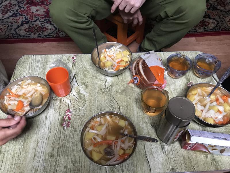 Voyage en Mongolie : dîner mongole