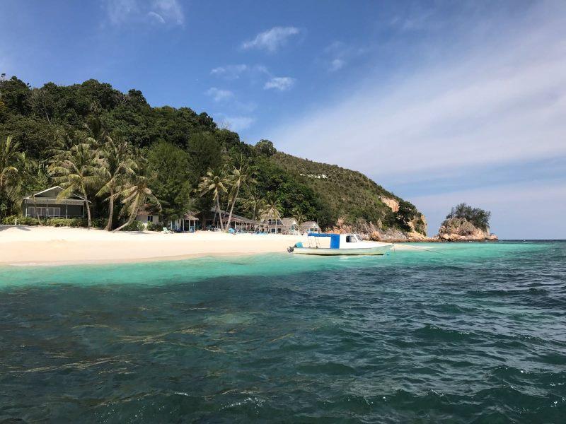 Un week-end à Rawa : vue sur l'île de Rawa