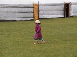 Carnet de voyage en Mongolie : enfant mongol
