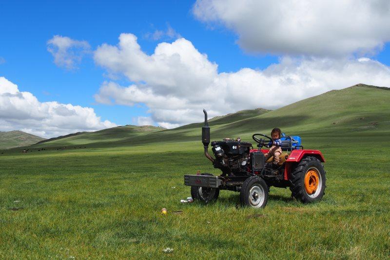 Carnet de voyage en Mongolie : paysage