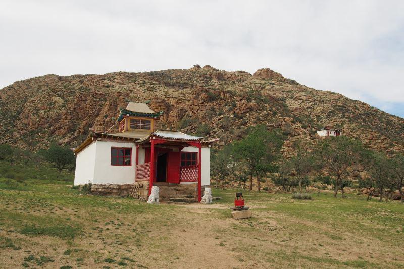 Carnet de voyage en Mongolie : monastère boudhique