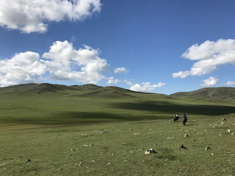 Carnet de voyage en Mongolie : steppe à perte de vue