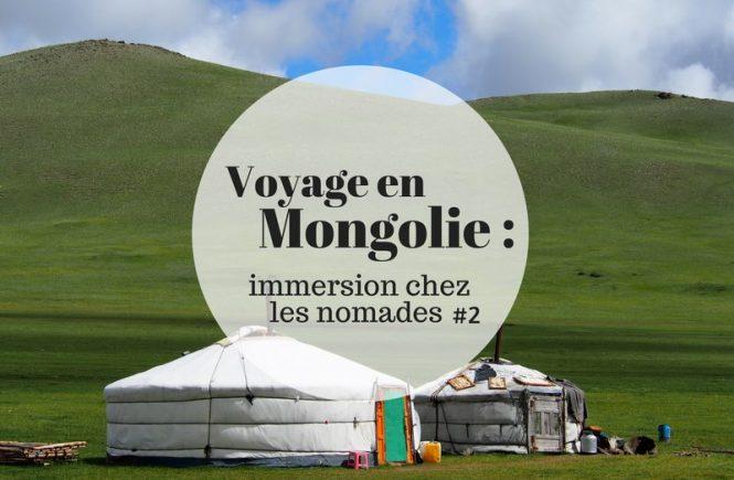 Carnet de voyage en Mongolie