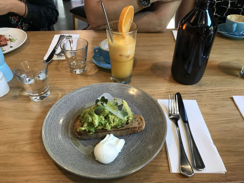 Que manger à Melbourne : avocado toast !