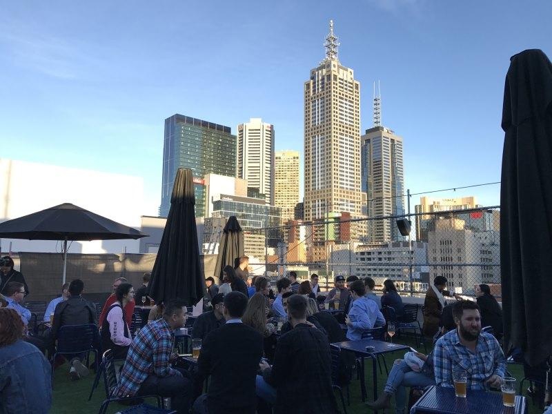 Où sortir à Melbourne : le rooftop Curtin House