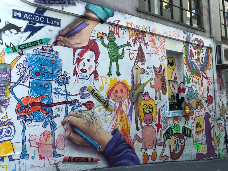 Top 8 des choses à faire autour de Melbourne : street art à Melbourne
