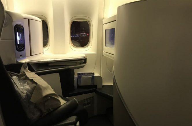 Les sièges en Business Class chez Air France