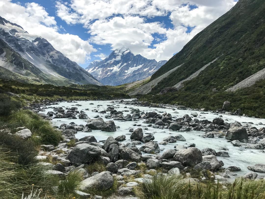 Bien préparer son voyage en Nouvelle-Zélande : randonnée au pied du Mont Cook