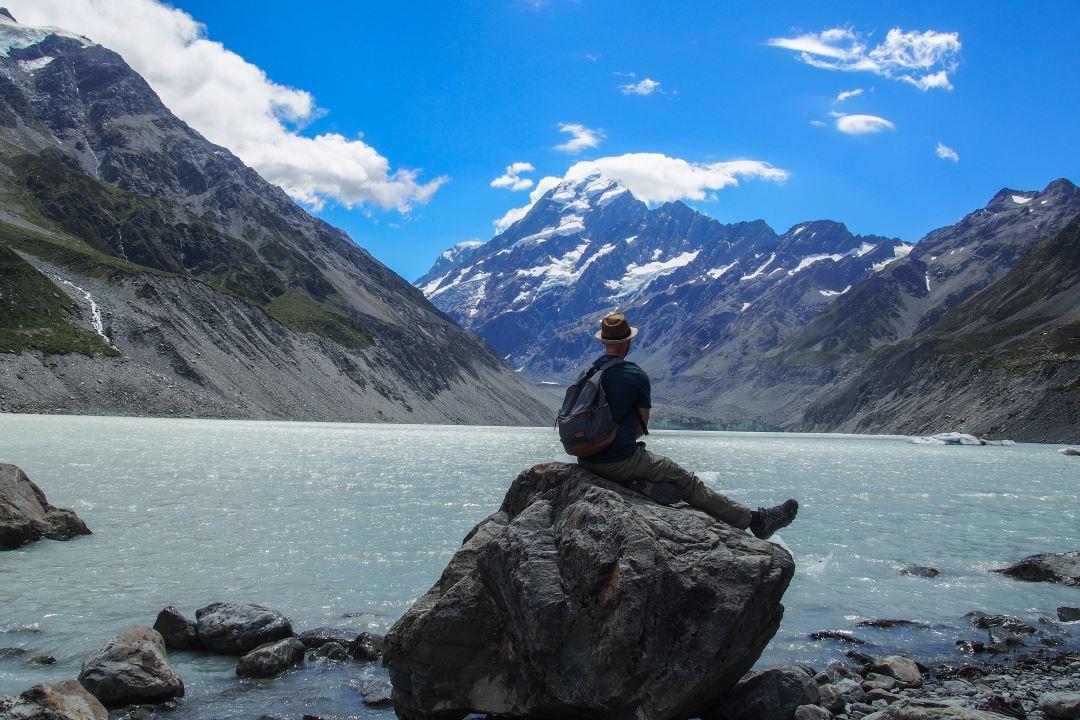 Bien préparer son voyage en Nouvelle-Zélande : vue sur le Mont Cook