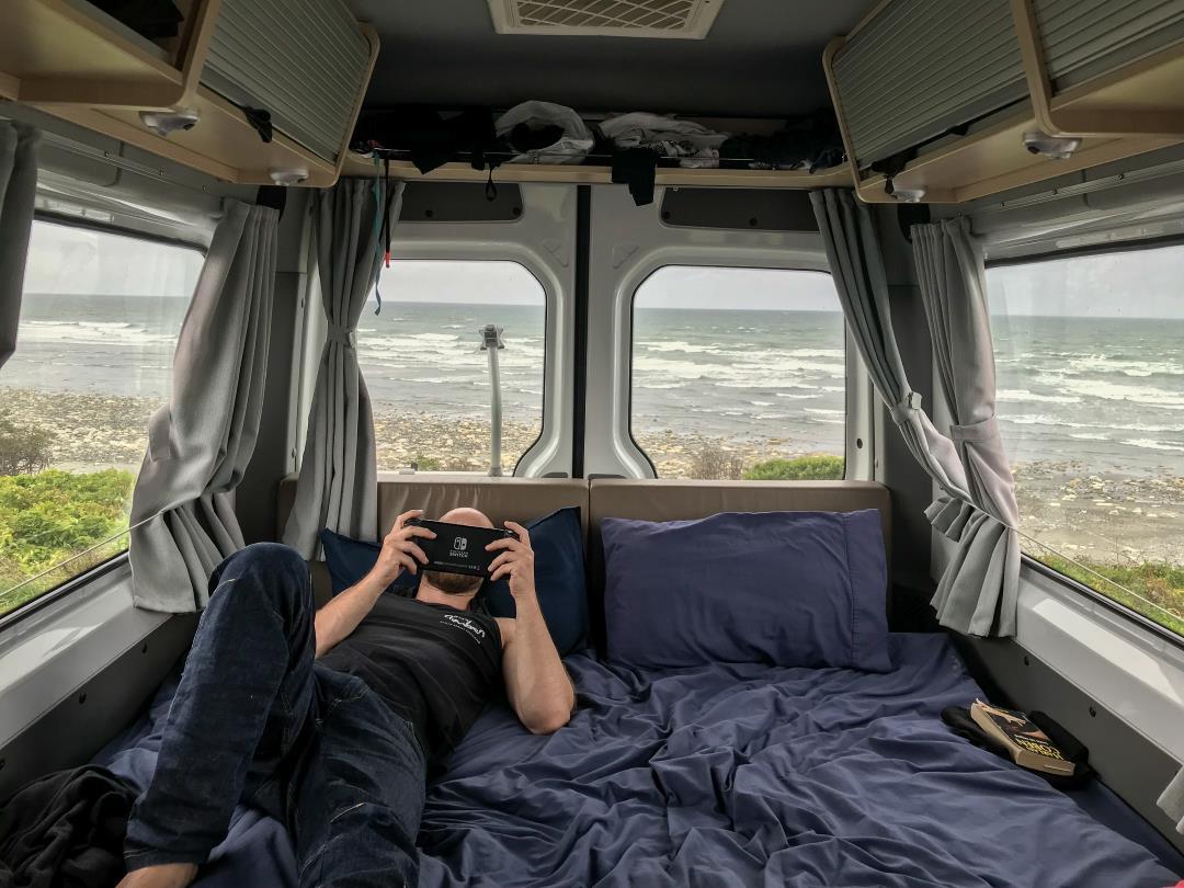 2 semaines en Nouvelle-Zélande : William insensible à l'appel de l'océan