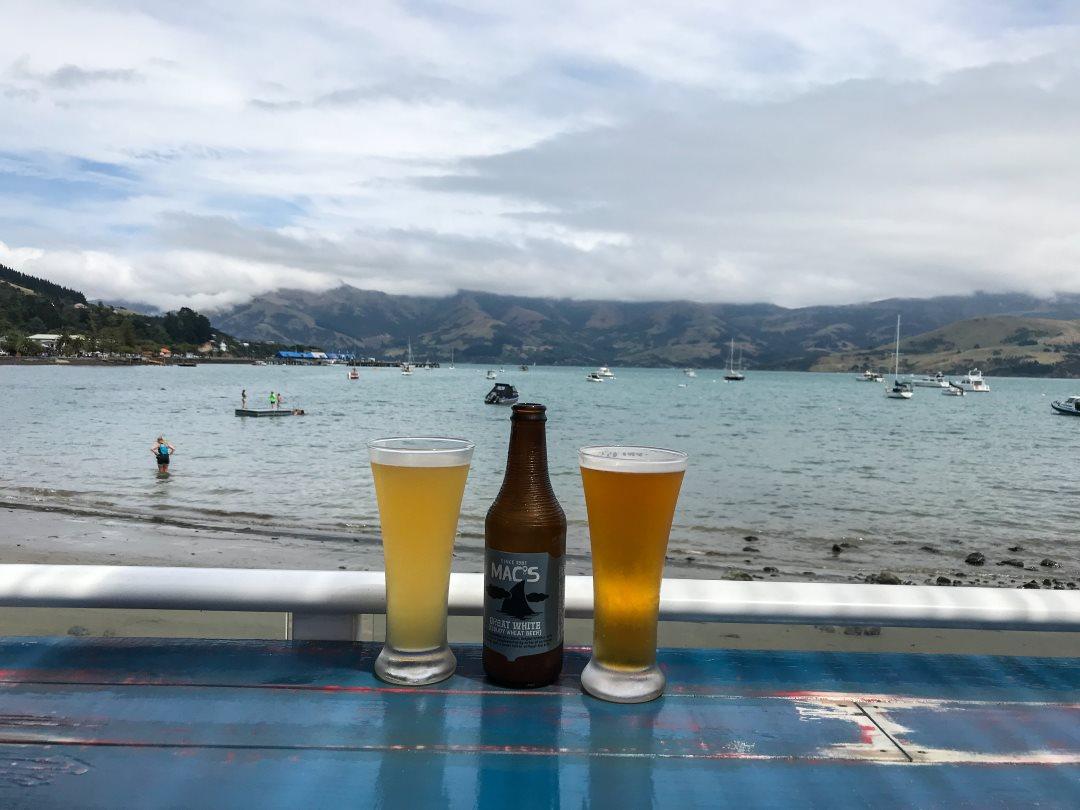 2 semaines en Nouvelle-Zélande : Apéro à Akaora