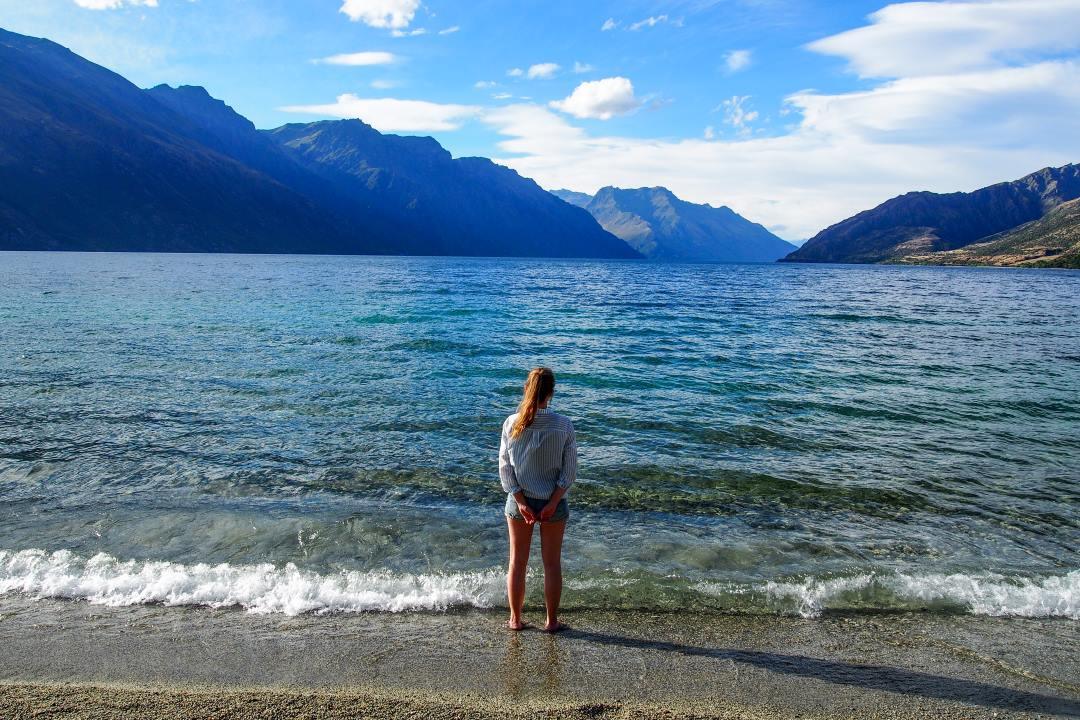 2 semaines en Nouvelle-Zélande : camping au lac Wakatipu