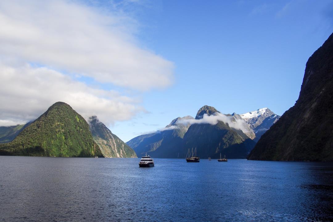 2 semaines en Nouvelle-Zélande : croisière sur le Milford Sound