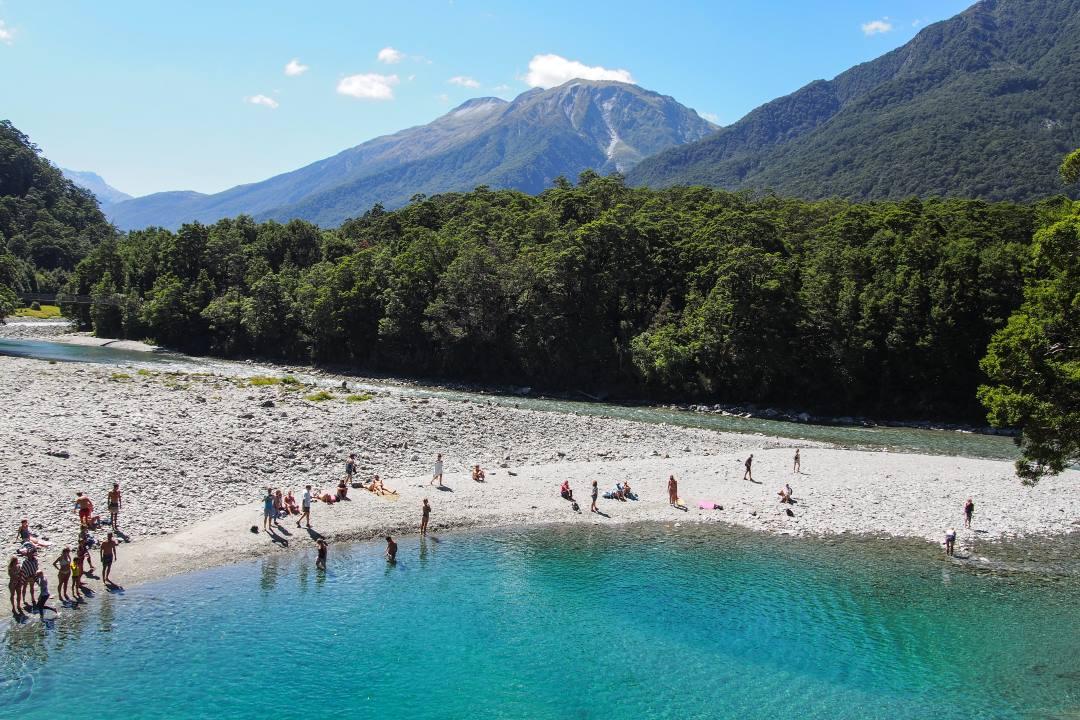 2 semaines en Nouvelle-Zélande : blue pool