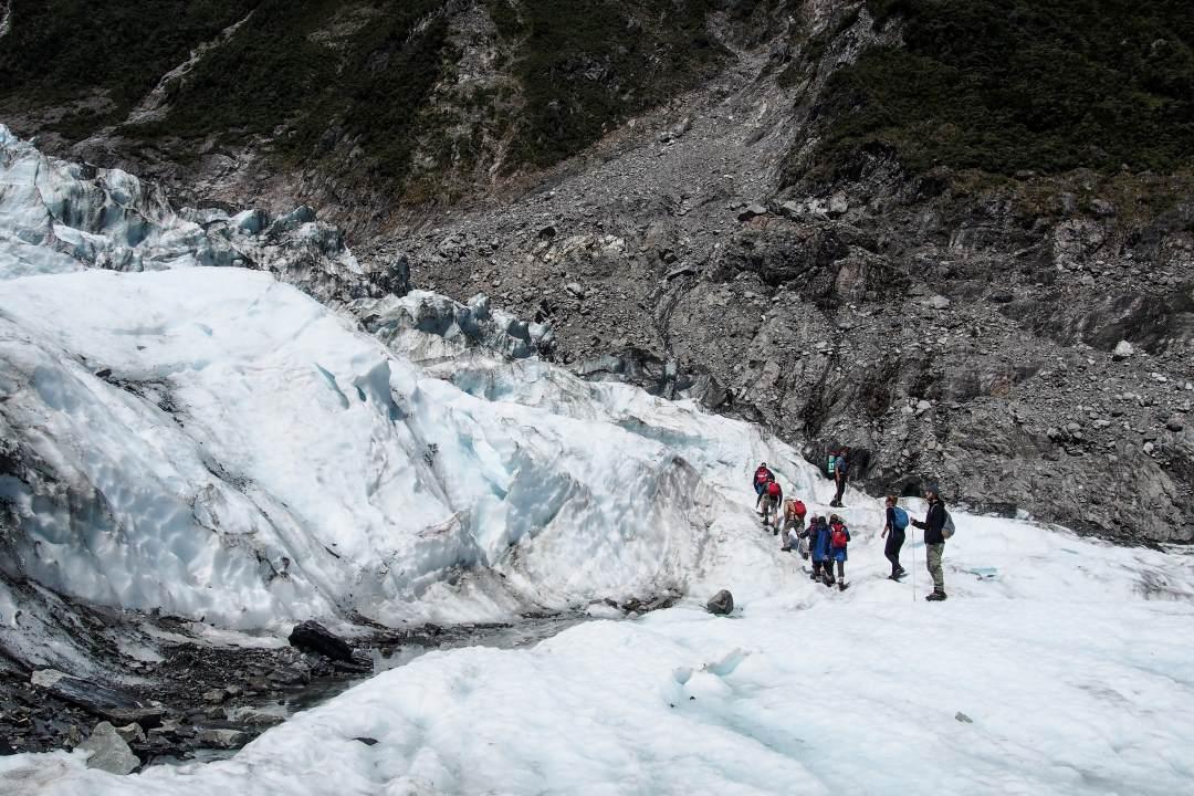 2 semaines en Nouvelle-Zélande : randonnée sur le glacier Fox
