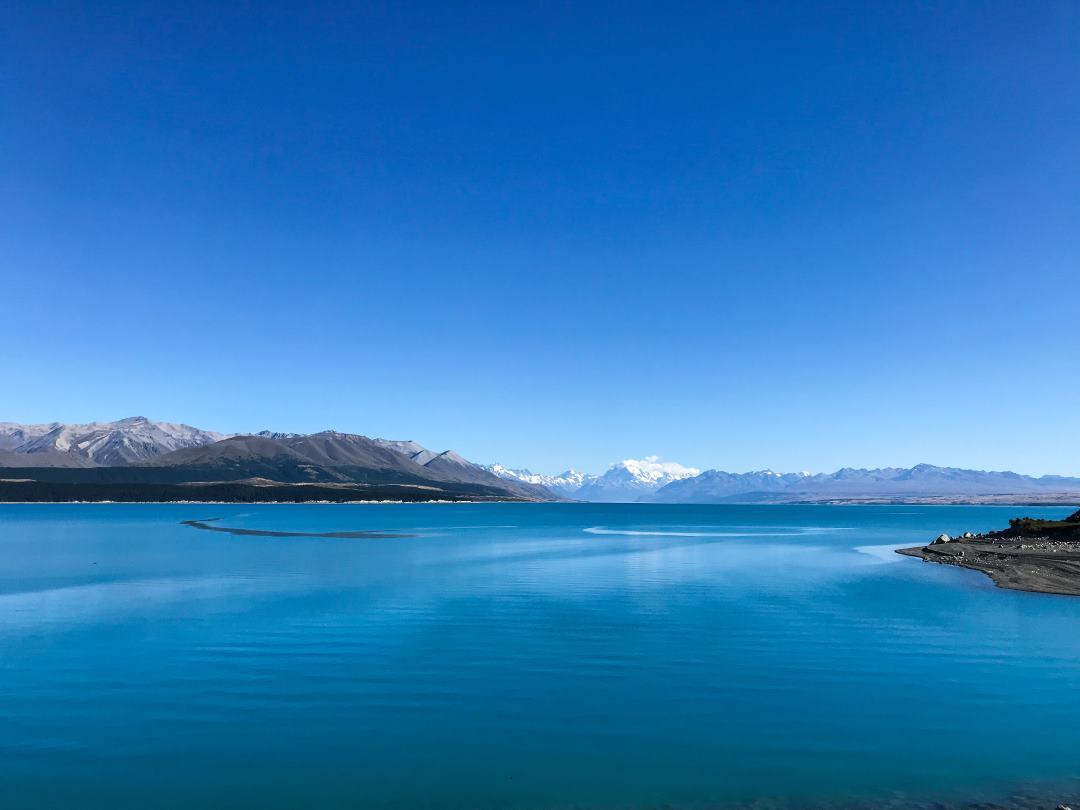 2 semaines en Nouvelle-Zélande : vue sur le Mont Cook et le lac Pukaki