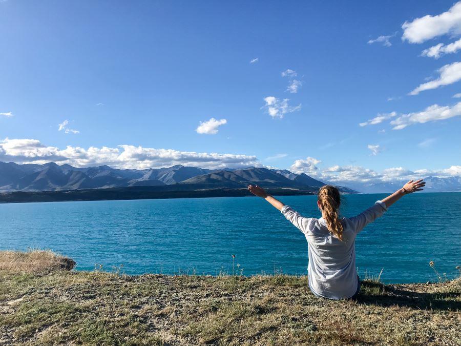 Meilleurs campings gratuits de Nouvelle-Zélande : Lake Pukaki Reserve
