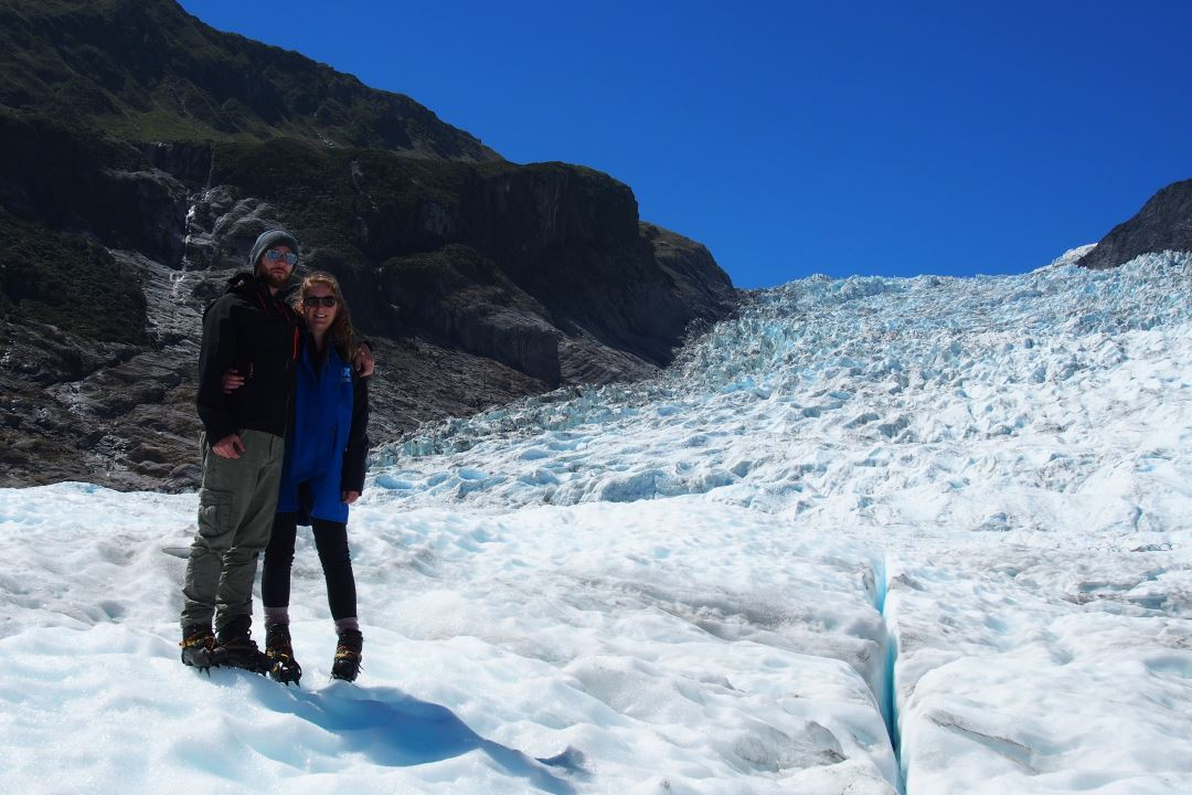 Prendre la pause sur le glacier Fox