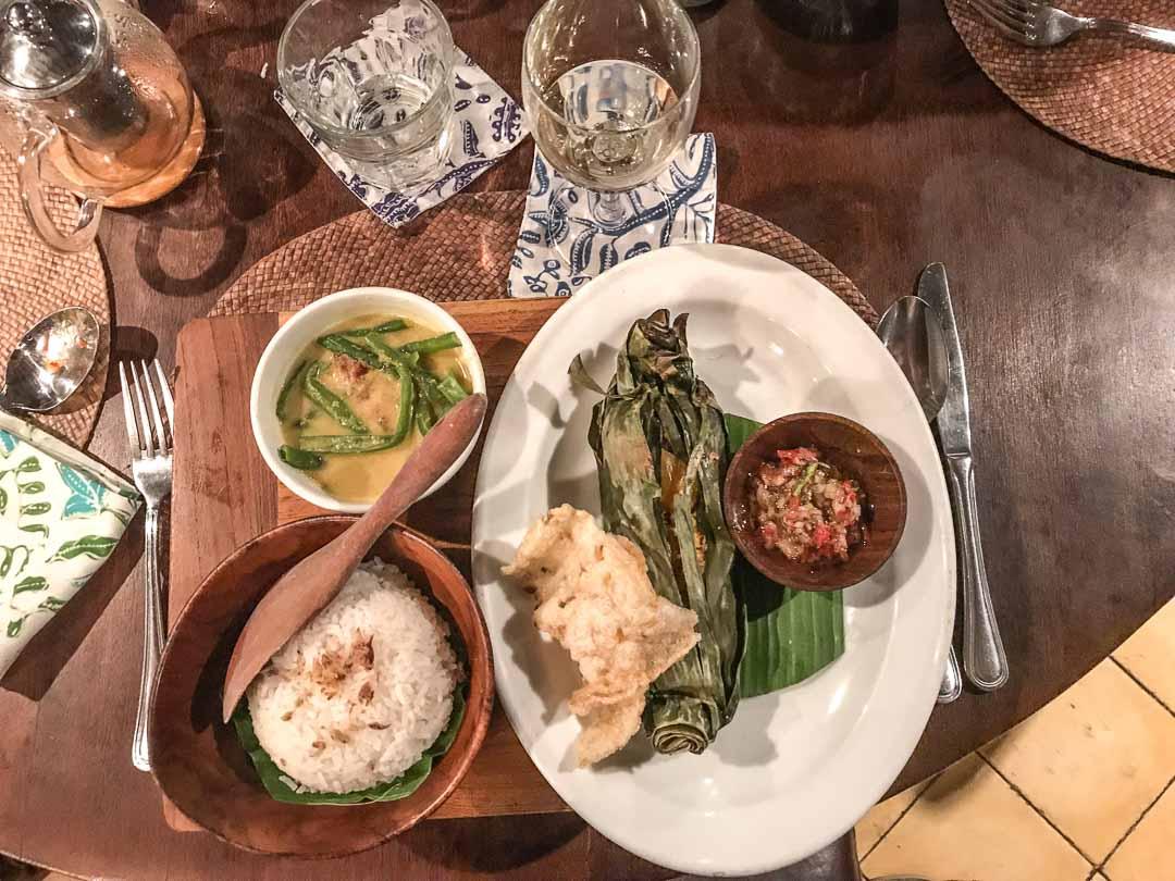 Où sortir à Bali : manger au Biku à Seminyak